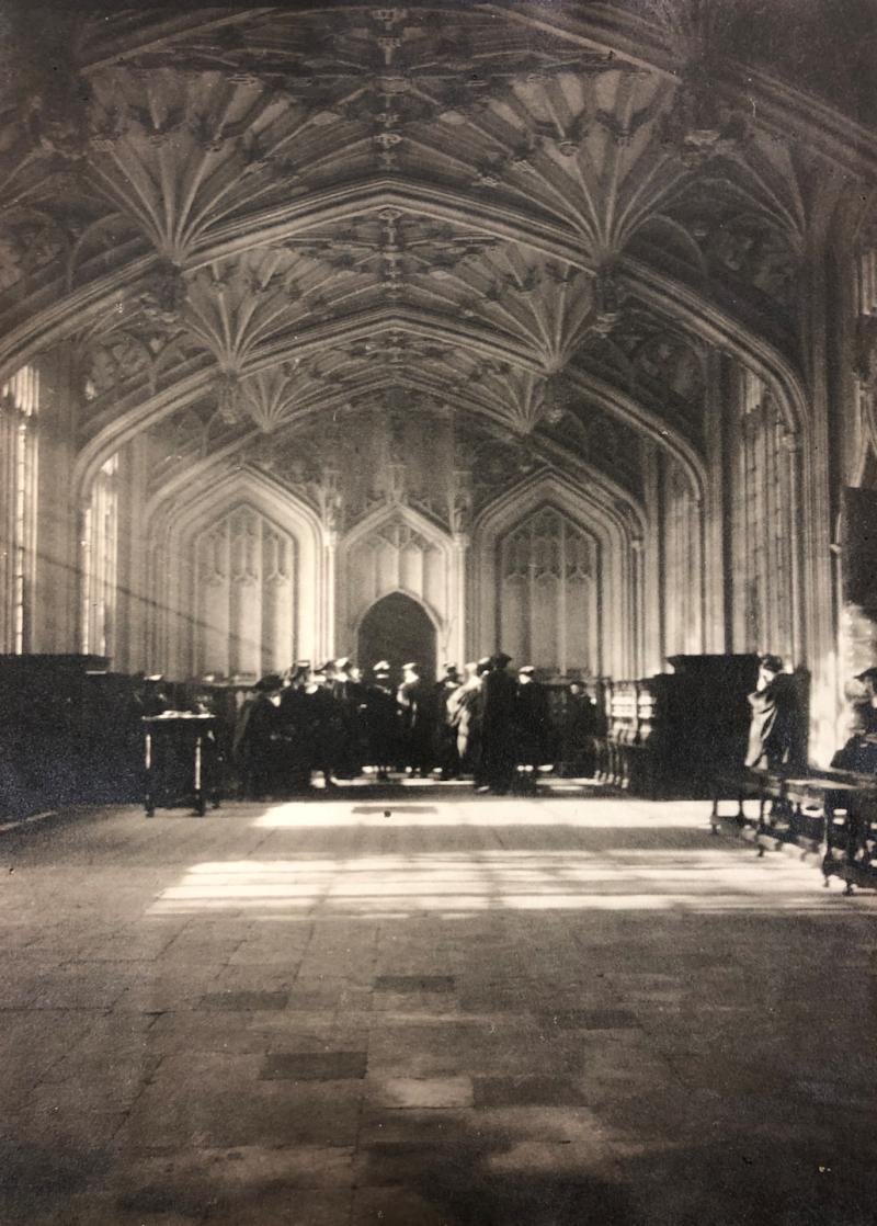 1920October30thDivinitySchool(BJJSeatedLeft)