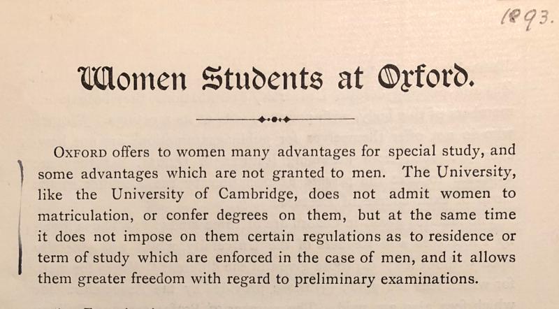 WomenStudentAtOxford